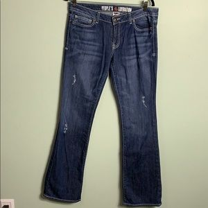 People's Liberation Jeans Size 30 boot cut EUC